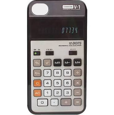 Calculator Retro iPhone Case