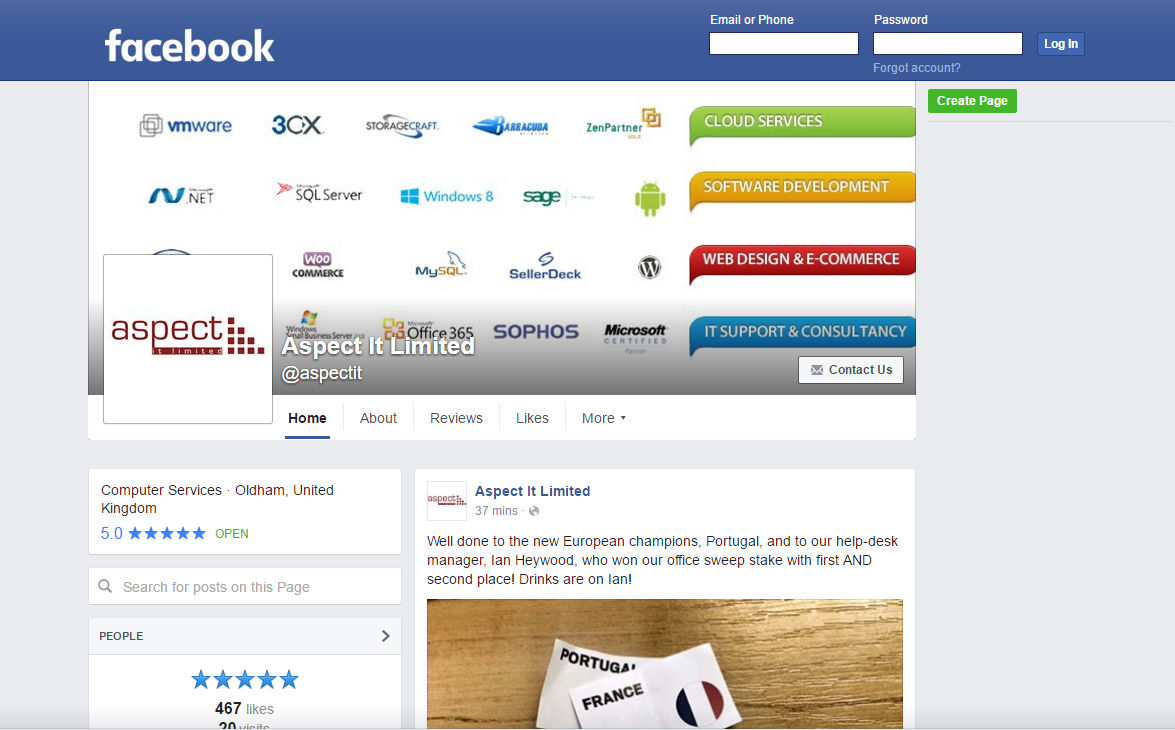 facebook-business-page-before
