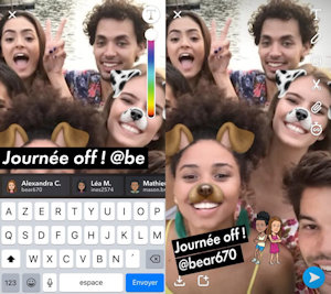 Snapchat-Mention