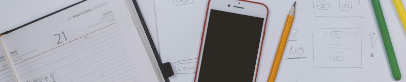 diary-phone-planning